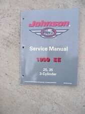 1999 EE Johnson Outboard 25 35 HP 3 Cylinder Service Manual MORE IN OUR STORE  U