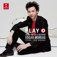 Edgar Moreau - Play: Works For Cello & And Piano (NEW CD)