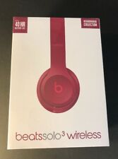 Beats by Dr Dre Solo 3 Wireless Headphone [ Neighborhood BRICK RED Edition ] NEW