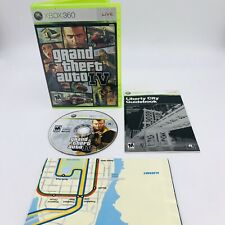 New listing Grand Theft Auto Iv (Microsoft Xbox 360, 2008) Complete With Manual