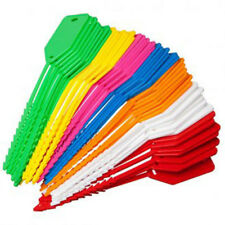 50 x Labeling Kevron Tags Econo Tags Business Home School Coloured Pack Bulk Lot