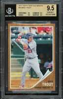 Mike Trout Rookie Card 2011 Topps Heritage Minors #44 BGS 9.5 (9.5 9.5 9.5 9.5)