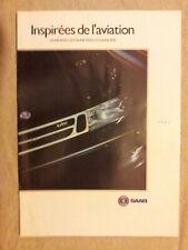 Catalogue publicitaire illustré automobiles Saab, 1992, modèles 900 et 9000