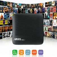 For Mecool M8S PRO L 4K TV Box 3GB +16GB Android Media Player WiFi Bluetooth 4.1