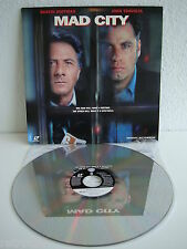 Mad City   Hoffman / Travolta   Laserdisc English CLV   LD: Near Mint  