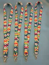 AUTISM AWARENESS PUZZLE LANYARD  -  I.D HOLDER OR KEYS multi coloured