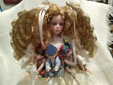 Connoisseur Collection Doll from Seymour Mann - 1991 - Angel with 3 Small Dolls