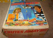 Vintage 1977 RARE CHUTES AWAY Air-Rescue Target Game by Gabriel, NICE w/ Box