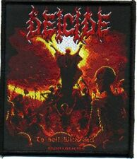 Deicide To Hell con God Parche/parche 601984 #