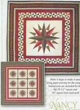 Windrose paper piecing quilt pattern by Nancy Rink of Nancy Rink Designs