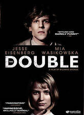BRAND NEW DVD The Double Jesse Eisenberg Mia Wasikowska Rated R