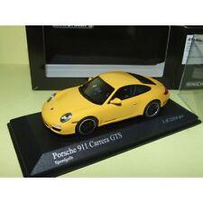 PORSCHE 911 CARRERA GTS 997 II 2011 Jaune MINICHAMPS 1:43
