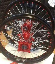 Coppia Ruote Honda CRF 250 2015 Mozzo Rosso Cerchio Black 160x215