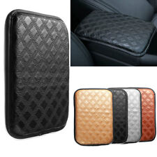 Universal Car Armrest Pad Cover Leather Center Console Box Cushion Armrest Mat
