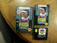 Tony La Russa Baseball (Sega Genesis, 1983)  Complete