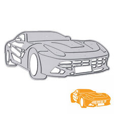 Cool Car Embossing Folder Cutting Dies Stencil DIY Scrapbooking Album Paper Card