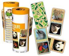 WWF Domino Wildtiere (28 Holzteile) Legespiel Lernspiel Gedächtnisspiel NEU