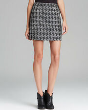 8  MARC BY MARC JACOBS Terence Jacquard Houndstooth Skirt - Black $278