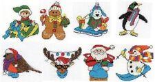 DMC Navidad Personaje Mini Juego de Punto de Cruz a Elegir Diseño
