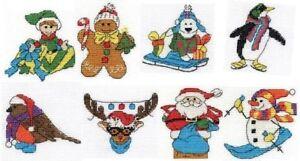 DMC Christmas Character Mini Cross Stitch Kit Choice of Design