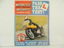 Vintage May 1971 MOTORCYCLE MECHANICS Magazine Scooter Three Wheeler L5260