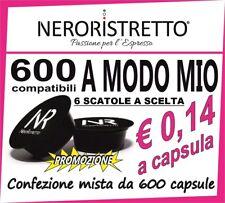 600 Cialde Capsule compatibili LAVAZZA A MODO MIO a scelta