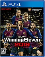 Winning Eleven 2019 Sony Playstation 4 PS4 Games From Japan Tracking USED