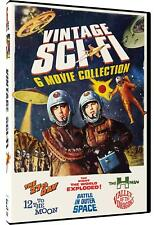 Vintage Sci-Fi Movies, 6 Film Set -The 27th Day, The H-Man, Valley of the Dragon