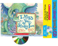I Miss You, Stinky Face Read Along by Lisa McCourt (Paperback/CD) FREE ship $35