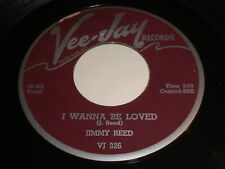 Jimmy Reed: I Wanna Be Loved / Going To New York 45 - Blues