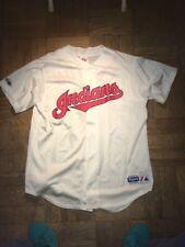 Vintage Majestic Authentic Cleveland Indians Kenny Loften Jersey Mens Large