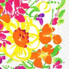 Marimekko URSULA floral paper lunch napkins new 20 in pack 33 cm sq