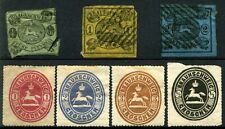 BRUNSWICK Early GERMAN States Postage Stamps Collection 1853-1865 Used