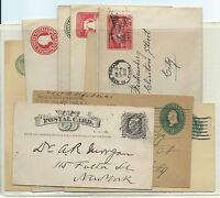 FRANCOBOLLI 1893/1938 USA STATI UNITI LOTTO 10 INTERI NUOVI E USATI D/6035