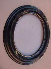 Beau cadre ovale en bois laqué noir - Epoque et style Napoléon III - fin XIXe S.