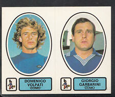 PANINI CALCIATORI FOOTBALL Adesivo 1977-78, N. 420, COMO-DOMENICO VOLPATI