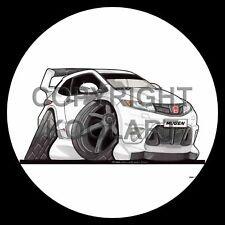 Koolart 4x4 4 x 4 Spare Wheel Graphic Honda Civic Type-R Mugen Sticker 2985