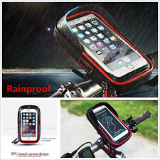 Waterproof Motorcycle Bike Handlebar Mount Holder Bag Case for Mobile Phone GPS