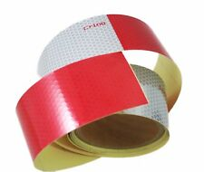 "ABN Trailer Conspicuity DOT-C2 Approved 2"" in x 10' ft Reflective Red/White Tape"