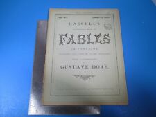 Vintage Cassell's Illustrated Book of Fables La Fontaine #20 - Gustave Dore L995