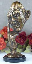 Handgefertigte Deko-Skulpturen & -Statuen aus Bronze