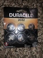 Duracell 2032 Battery 6 Pack Expire Mar 2029