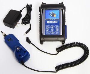 SENKO RMT SCK-FTTX-500 Portable Fiber Optics Field Inspection Kit Meter & Probe