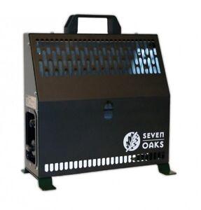 Seven Oaks Kanzelheizung 1,6KW Neues Modell Ansitzheizung Zeltheizung