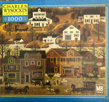 Hawkriver Hollow 1000 Piece Puzzle Charles Wysocki Americana Complete