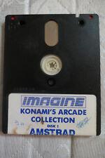 Jeu Amstrad CPC 6128 - KONAMI'S ARCADE COLLECTION - Imagine