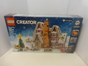 LEGO 10267 Creator Gingerbread House 1477 pieces NEW & SEALED