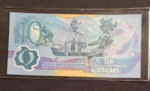 New Zealand 10 Dollars MILLENNIUM P-190a 2000 VERY RARE Polymer