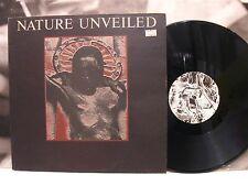 CURRENT 93 - NATURE UNVEILED LP + INSERT EX-/EX 1st PRESSING BELGIUM 1984 LAY 4