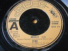 """ZERO - ANGELS (THEME FROM BBC TV SERIES)  7"""" VINYL"""
